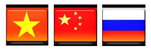 Export Vietnam, Chine, Russie : FR62 667 112CE